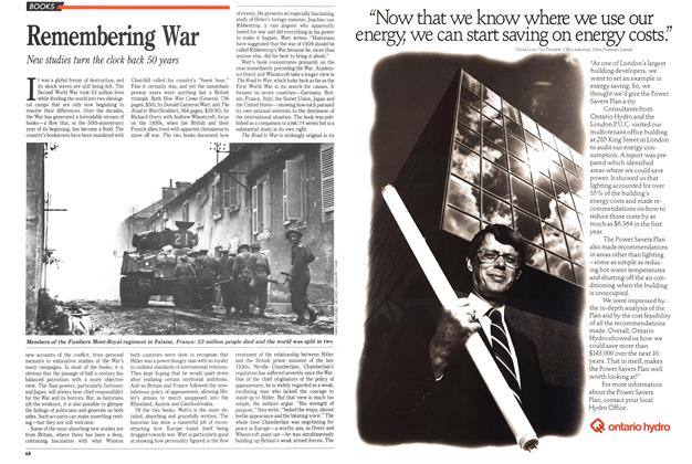 Article Preview: Remembering War, November 1989 | Maclean's