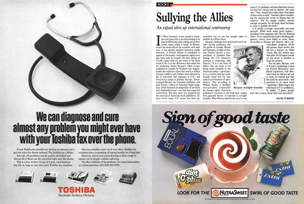 Article Preview: Sullying the Allies, November 1989   Maclean's
