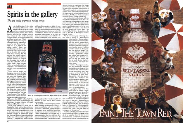 Article Preview: Spirits in the gallery, November 1989 | Maclean's