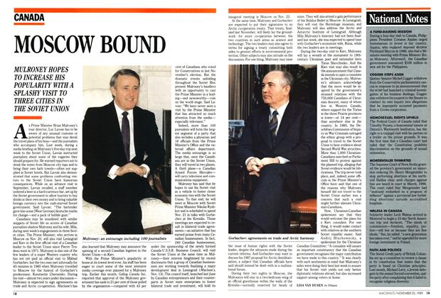Article Preview: National Notes, November 1989 | Maclean's