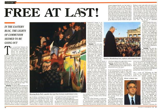 Article Preview: FREE AT LAST!, November 1989 | Maclean's