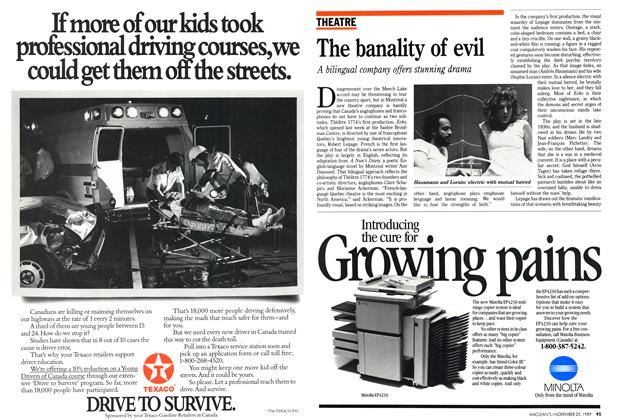Article Preview: The banality of evil, November 1989 | Maclean's