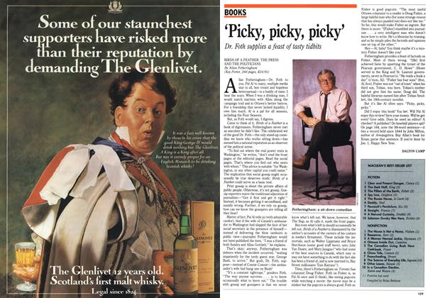 Article Preview: 'Picky, picky, picky', November 1989 | Maclean's