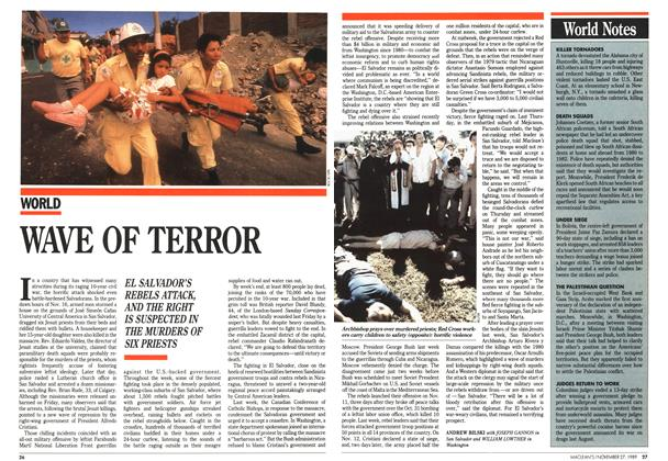 Article Preview: WAVE OF TERROR, November 1989 | Maclean's