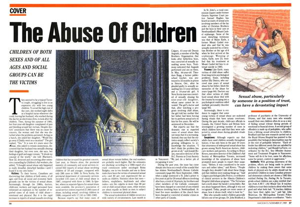 Article Preview: The Abuse Of Children, November 1989 | Maclean's