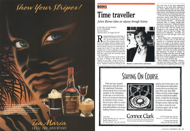 Article Preview: Time traveller, November 1989 | Maclean's