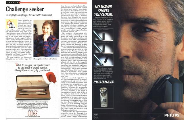 Article Preview: Challenge seeker, December 1989 | Maclean's