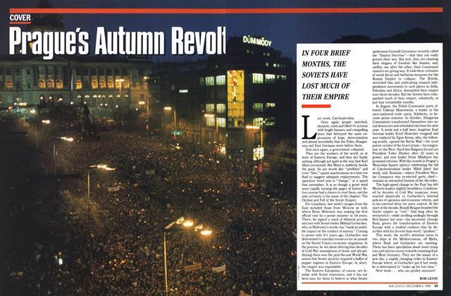 Article Preview: Prague's Autumn Revolt, December 1989 | Maclean's