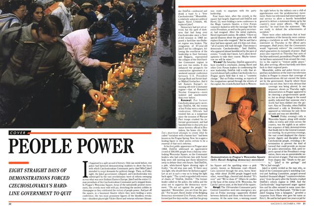 Article Preview: PEOPLE POWER, December 1989 | Maclean's