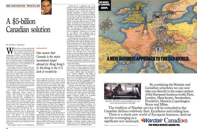 Article Preview: A $5-billion Canadian solution, December 1989 | Maclean's