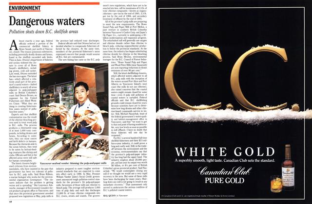 Article Preview: Dangerous waters, December 1989 | Maclean's
