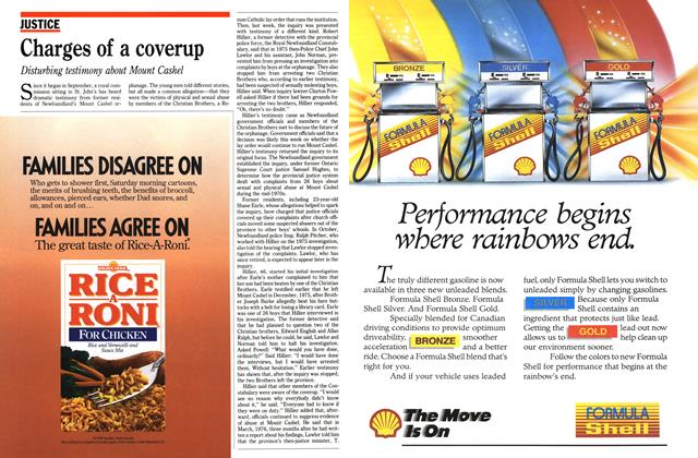Article Preview: Charges of a coverup, December 1989 | Maclean's