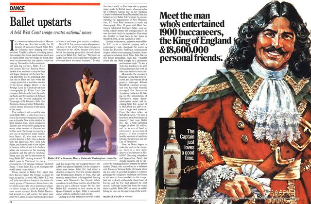 Article Preview: Ballet upstarts, December 1989 | Maclean's