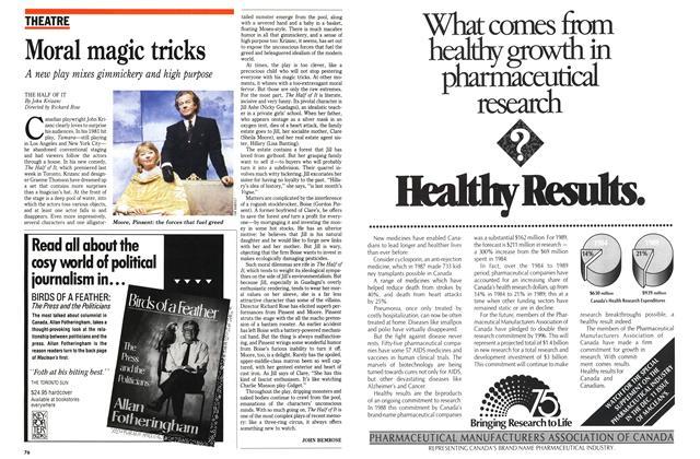 Article Preview: Moral magic tricks, December 1989 | Maclean's