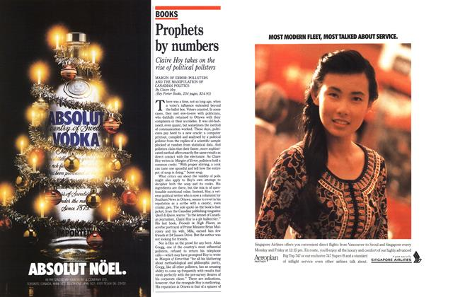 Article Preview: Prophets by numbers, December 1989 | Maclean's
