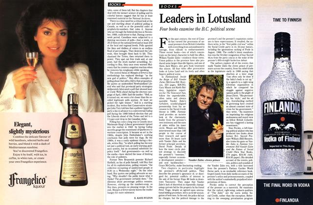 Article Preview: Leaders in Lotusland, December 1989 | Maclean's