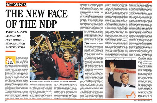 Article Preview: THE NEW FACE OF THE NDP, December 1989 | Maclean's