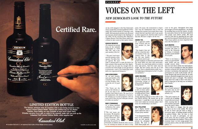 Article Preview: VOICES ON THE LEFT, December 1989 | Maclean's