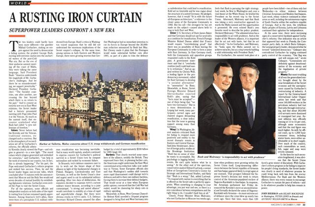 Article Preview: A RUSTING IRON CURTAIN, December 1989 | Maclean's
