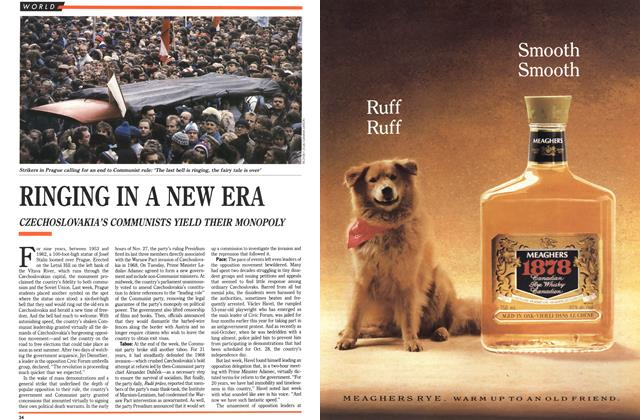 Article Preview: RINGING IN A NEW ERA, December 1989 | Maclean's