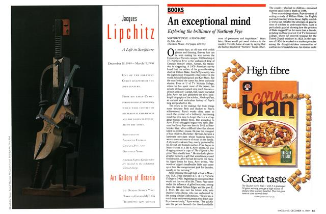 Article Preview: An exceptional mind, December 1989 | Maclean's