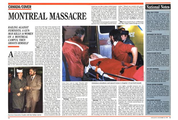 Article Preview: MONTREAL MASSACRE, December 1989 | Maclean's