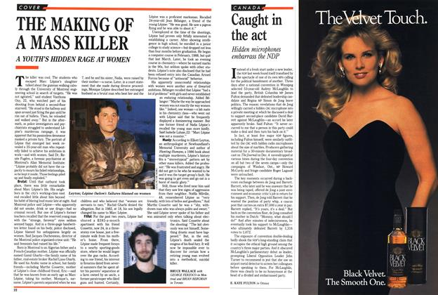 Article Preview: Caught in the act, December 1989 | Maclean's