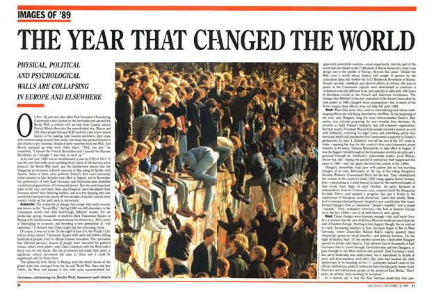 Article Preview: THE YEAR THAT CH ANGED THE WORLD, December 1989 | Maclean's