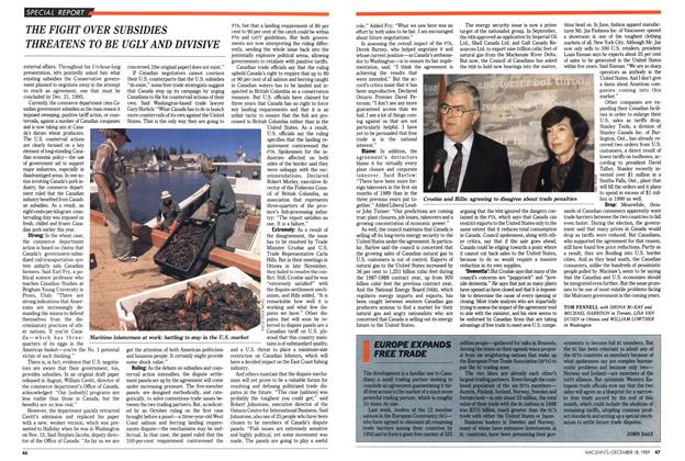 Article Preview: EUROPE EXPANDS FREE TRADE, December 1989 | Maclean's