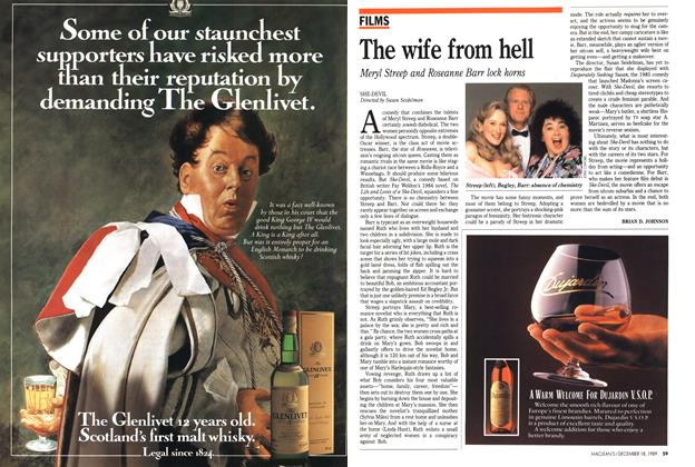 Article Preview: The wife from hell, December 1989 | Maclean's