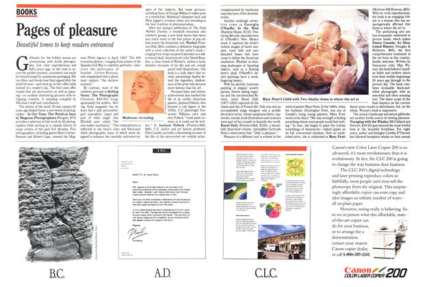 Article Preview: Pages of pleasure, December 1989 | Maclean's