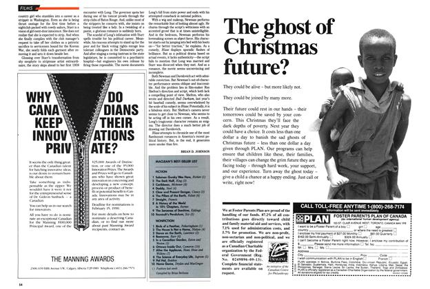 Article Preview: MACLEAN'S BEST-SELLER UST, December 1989 | Maclean's