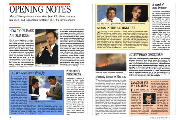 Article Preview: OPENING NOTES, December 1989 | Maclean's
