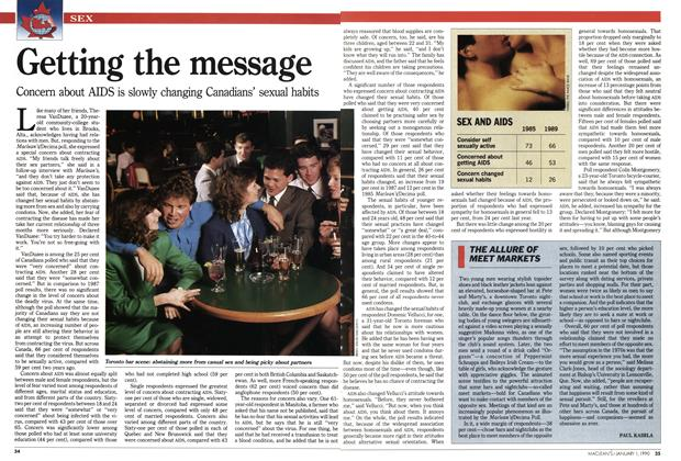 Article Preview: THE ALLURE OF MEET MARKETS, January 1990 | Maclean's