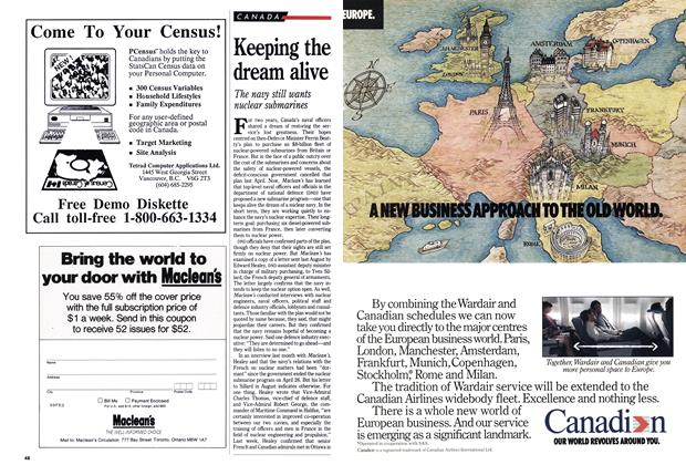 Article Preview: Keeping the dream alive, January 1990 | Maclean's