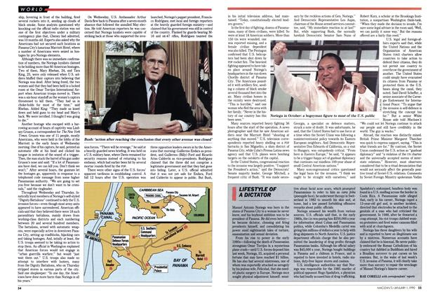 Article Preview: LIFESTYLE OF A DICTATOR, January 1990 | Maclean's