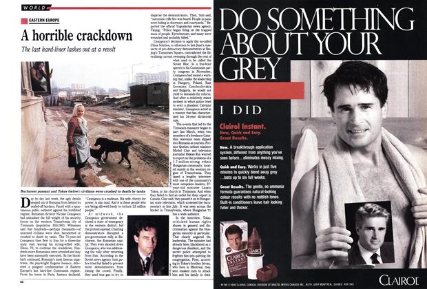 Article Preview: A horrible crackdown, January 1990 | Maclean's