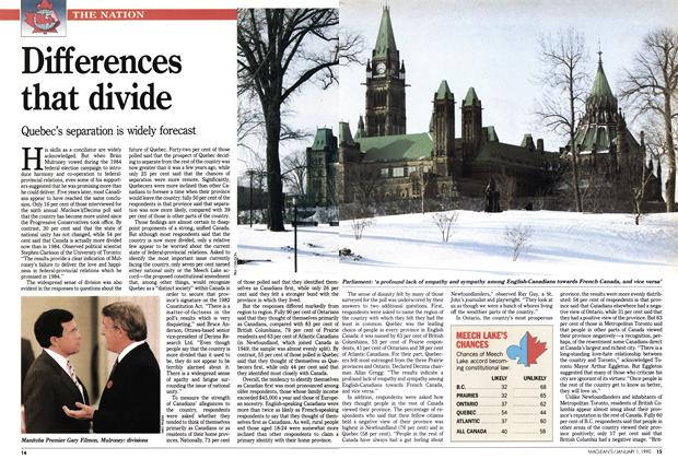 Article Preview: Differences that divide, January 1990 | Maclean's