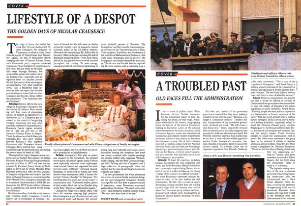 Article Preview: A TROUBLED PAST, January 1990 | Maclean's