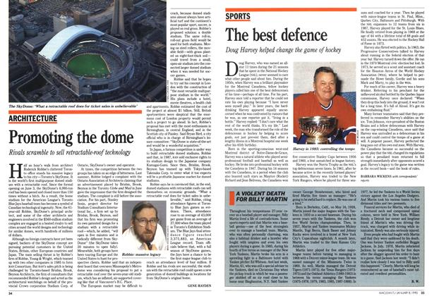Article Preview: The best defence, January 1990 | Maclean's