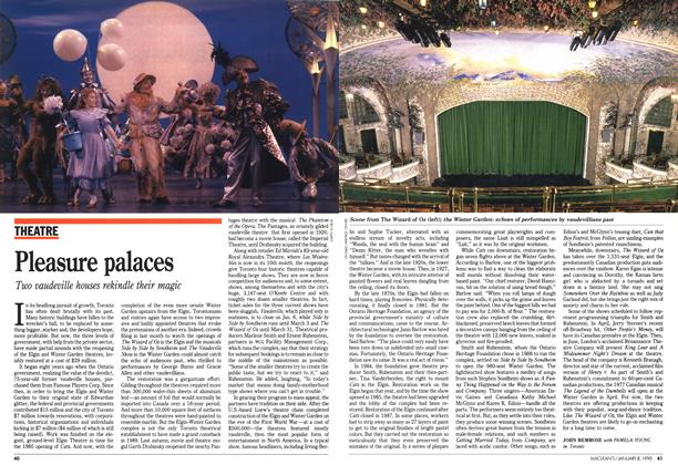 Article Preview: Pleasure palaces, January 1990 | Maclean's