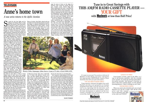 Article Preview: Anne's home town, January 1990 | Maclean's