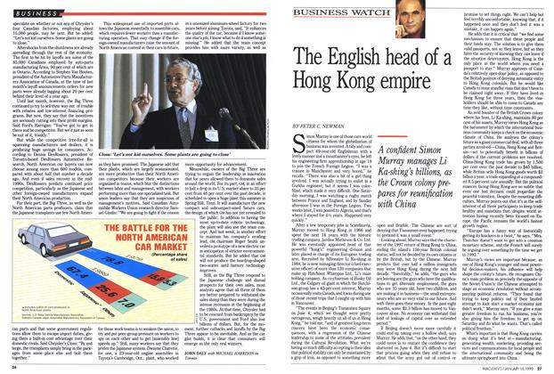 Article Preview: The English head of a Hong Kong empire, January 1990 | Maclean's