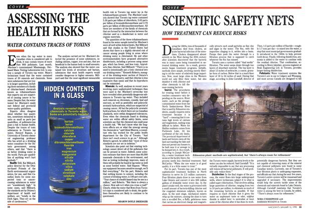 Article Preview: SCIENTIFIC SAFETY NETS, January 1990 | Maclean's