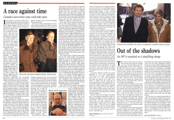 Article Preview: A race against time, January 1990 | Maclean's
