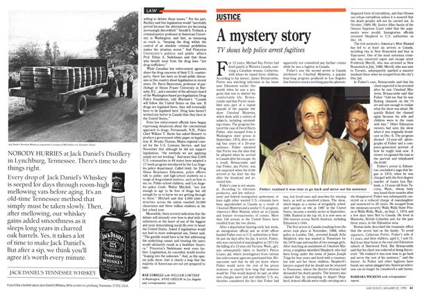 Article Preview: A mystery story, January 1990   Maclean's
