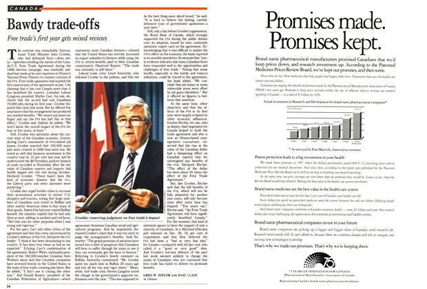 Article Preview: Bawdy trade-offs, January 1990 | Maclean's