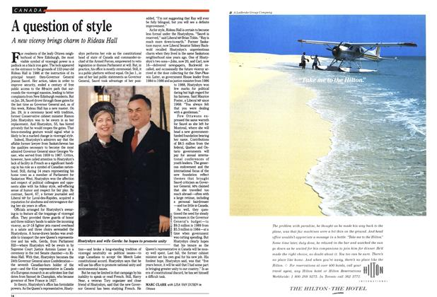 Article Preview: A question of style, February 1990 | Maclean's