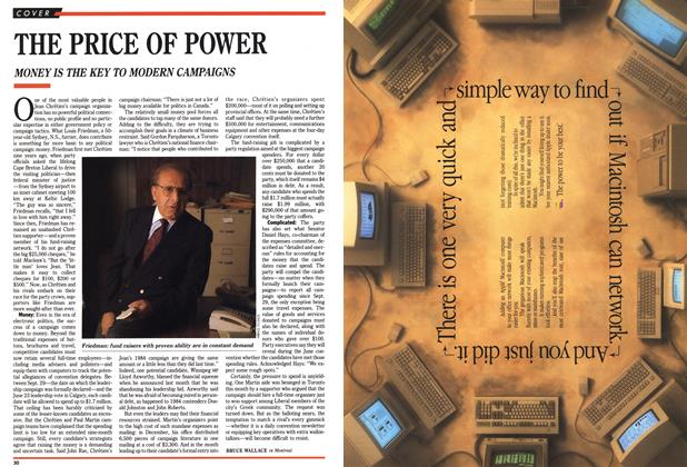 Article Preview: THE PRICE OF POWER, February 1990 | Maclean's
