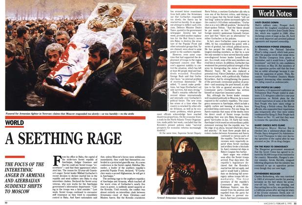 Article Preview: A SEETHING RAGE, February 1990 | Maclean's